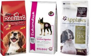 таблица сравнения кормов для собак