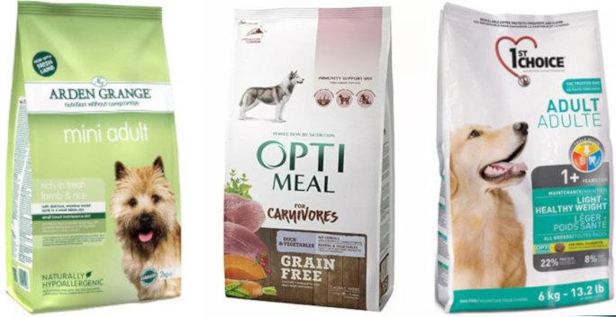 Список супер премиум кормов для собак