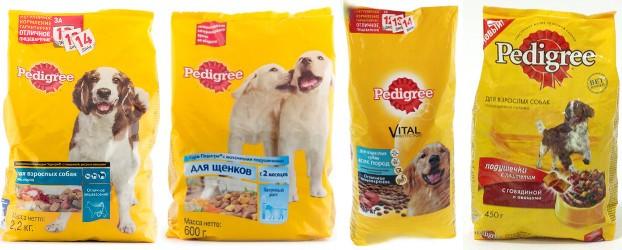 Педигри корм для собак отзывы