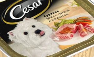 Порода собаки из рекламы корма «Цезарь»