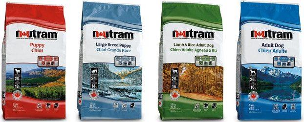 Отзывы о сухих кормах для собак Nutram