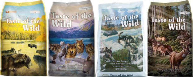 Корм Taste of the Wild для собак отзывы