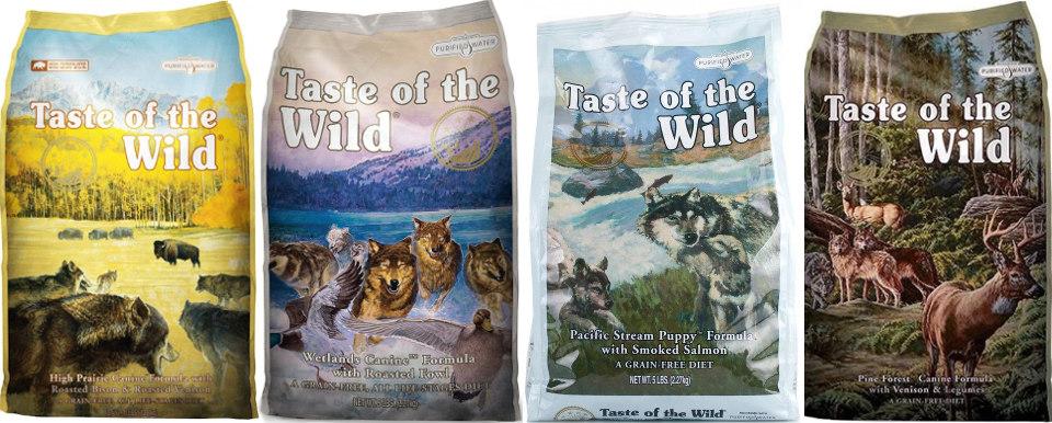 Корм для собак Taste of the Wild: отзывы и обзор состава