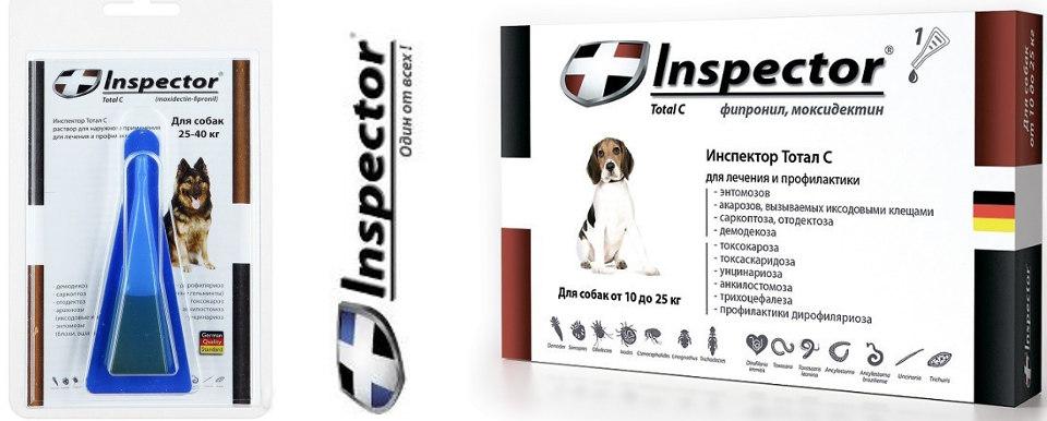 инспектор капли для собак инструкция отзывы