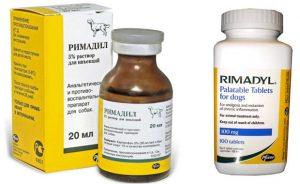 Ветеринарные препараты: «римадил» для собак. Инструкция и отзывы.