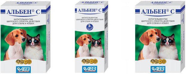 Альбен для собак инструкция, цена и отзывы