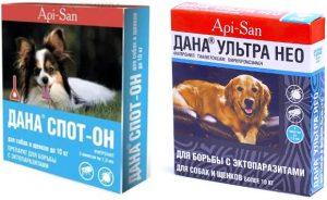 Капли Дана для собак инструкция