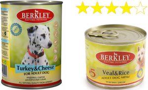 Корм Berkley для собак отзывы