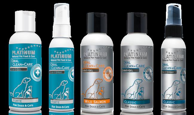 Средство для чистки зубов у собак PLATINUM OralClean + Care