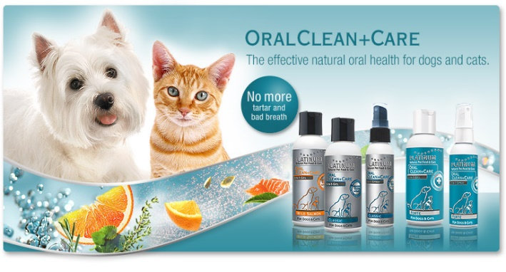 Средство от зубного налета для собак - oralClean
